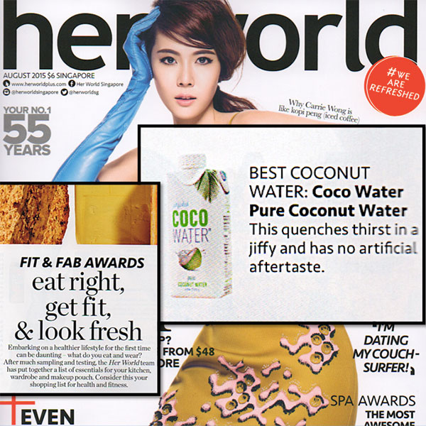 Coco Water Her World News Featured