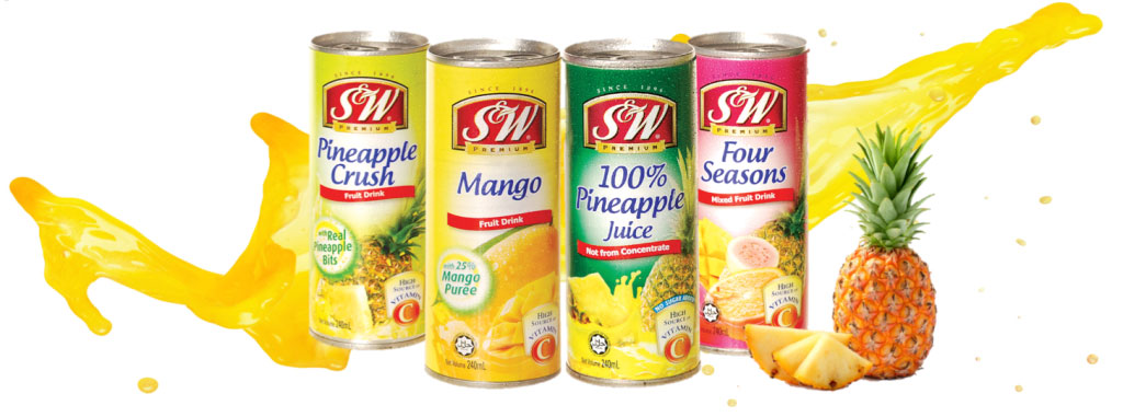 S&W Fruit Juice News