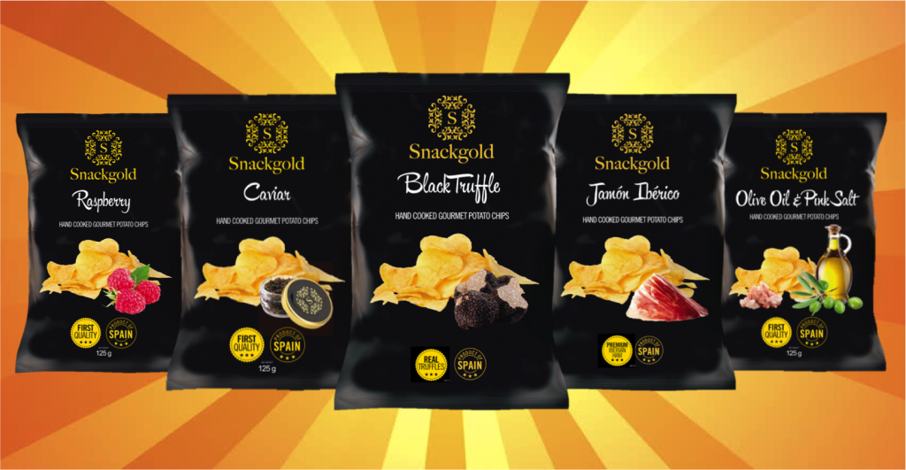 Snackgold Gourmet Potato Chips Product Image