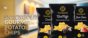 Snackgold Gourmet Potato Chips Product Button