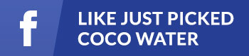 Just Picked Coco Water Facebook Button Small