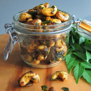 Roast Curry Cashews